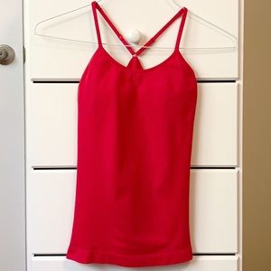 Forever 21 Active Tank with Built-In Bra - Med
